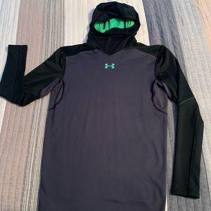 under armour coldgear compression sweatshirt